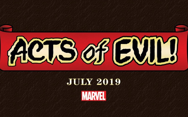 La Marvel annuncia Acts of Evil