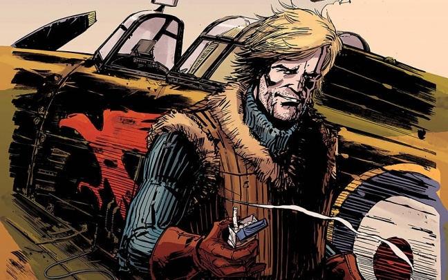 Primo sguardo a Johnny Red #1 di Garth Ennis e Keith Burns