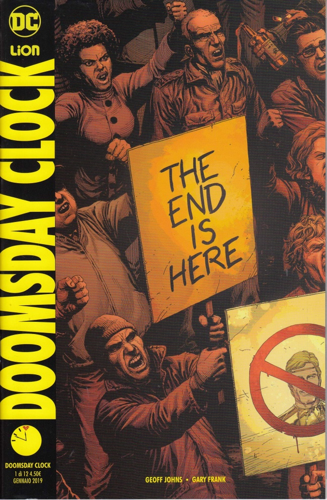Doomsday Clock 1, recensione: arriva in Italia la serie evento di Geoff Johns e Gary Frank