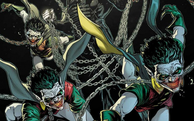 The Batman Who Laughs #1, il nuovo tie-in di Dark Nights: Metal