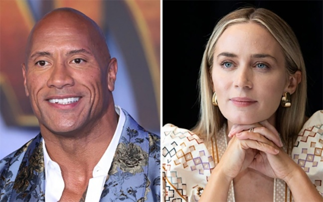 Dwayne Johnson e Emily Blunt insieme nell'adattamento di Ball and Chain di Scott Lobdell