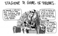 L'8° stagione di Game of Thrones vista da Zerocalcare