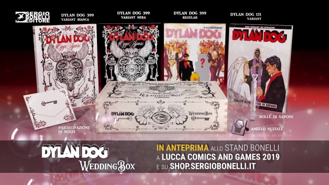 Bonelli annuncia il Dylan Dog Wedding Box