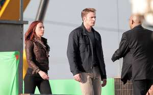 Captain America: The Winter Soldier: foto dal set