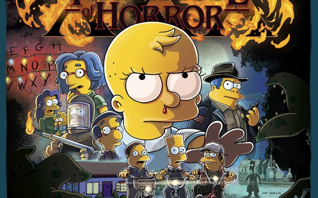 I Simpson in versione Stranger Things nel prossimo speciale di Halloween