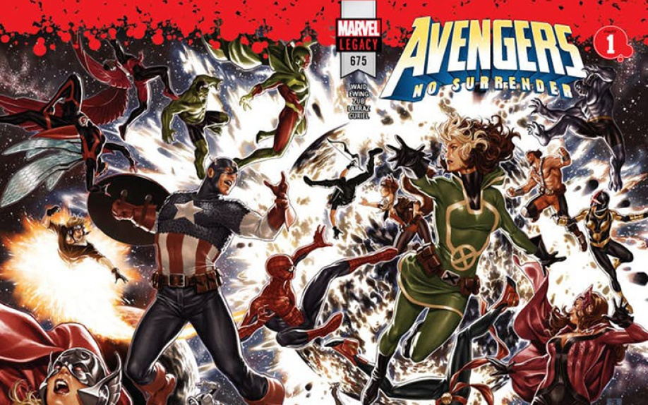The Avengers #675: al via l'evento Avengers: No Surrender