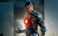 Ray Fisher/Cyborg fuori dal film The Flash