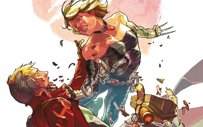 Battleworld: Star Lord and Kitty Pride #1, anteprima