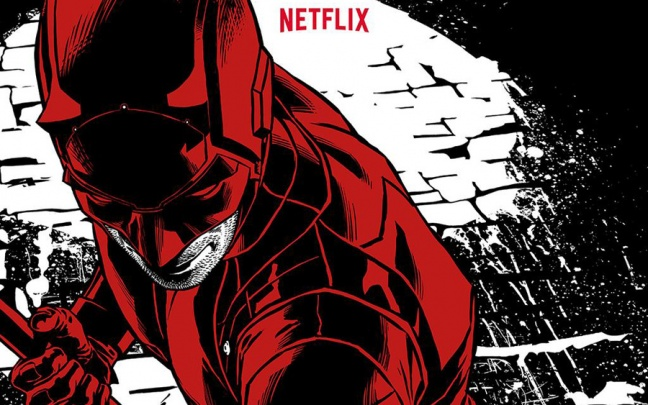 Il poster di Joe Quesada per Daredevil 2