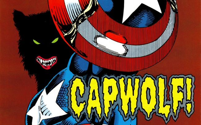 Mad Run 4: Attenti a Cap-Wolf! Il Captain America di Mark Gruenwald