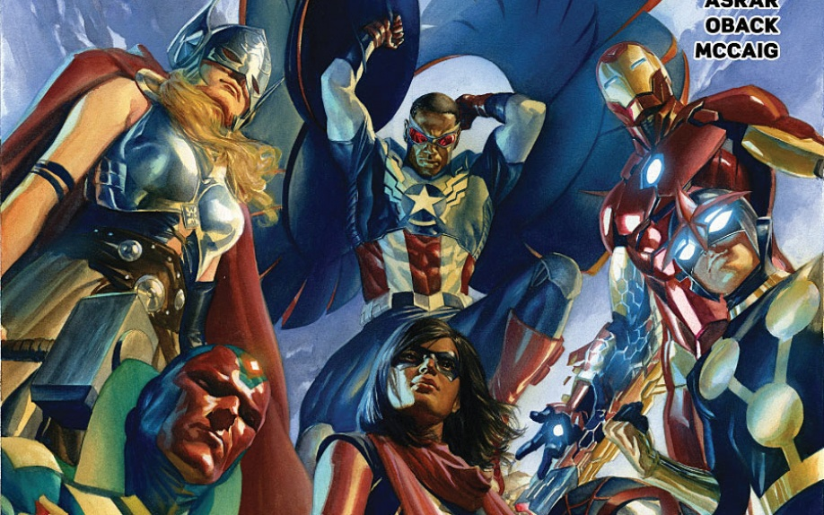 All-New, All-Different Avengers #1: anteprima