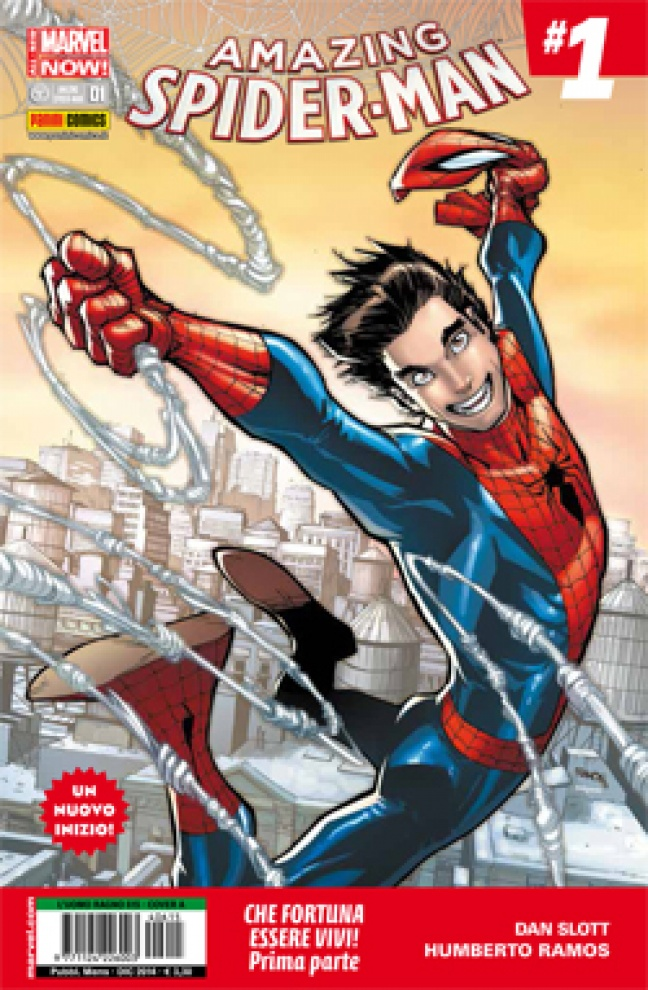 Amazing Spider-Man #1 All New Marvel Now!
