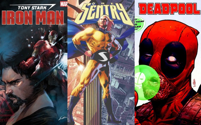 Marvel's Fresh Start: Slott/Schiti su Iron Man, Lemire/Jacinto su The Sentry, Young/Klein su Deadpool