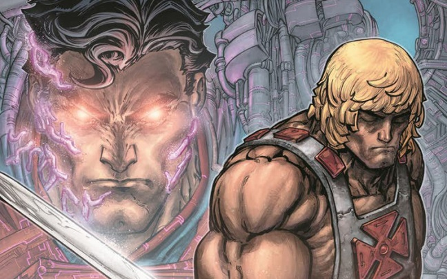 DC Comics annuncia il crossover fra Injustice e He-Man and the Master of the Universe