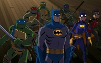 Il trailer del film animato Batman vs. Teenage Mutant Ninja Turtles