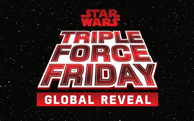 Arriva lo Star Wars Triple Force Friday