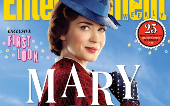 Primo sguardo a Mary Poppins Returns, foto di Emily Blunt e del cast