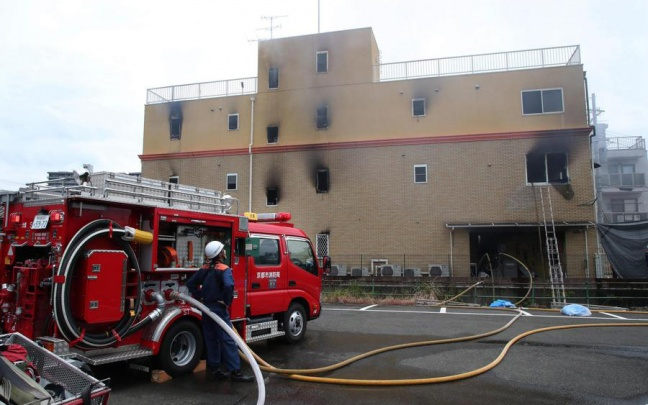 Incendio allo studio Kyoto Animation, oltre 20 morti