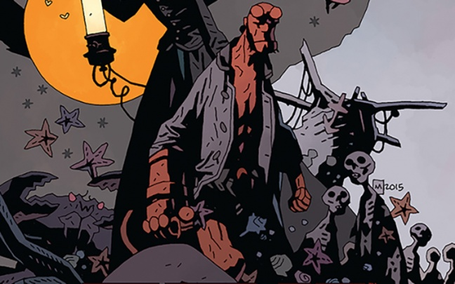 Il nuovo graphic novel di Hellboy