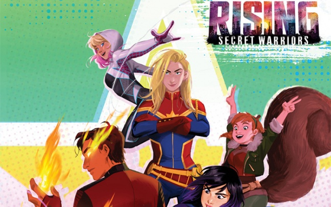 Arriva Marvel Rising, franchise animato con Spider-Gwen, Capitan Marvel e altri